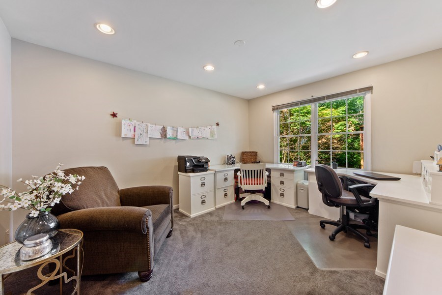 Real Estate Photography - 2162 N Charter Point, Arlington Heights, IL, 60004 - Office