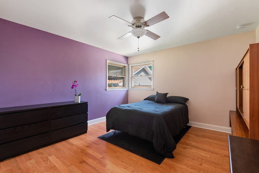Real Estate Photography - 8018 Ottawa Avenue, Niles, IL, 60714 - 2nd Bedroom