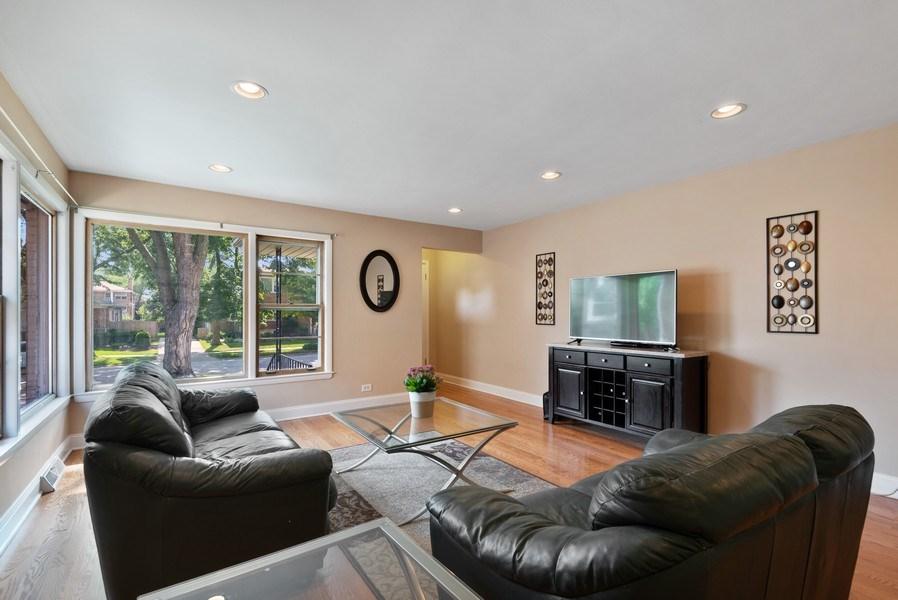 Real Estate Photography - 8018 Ottawa Avenue, Niles, IL, 60714 - Living Room