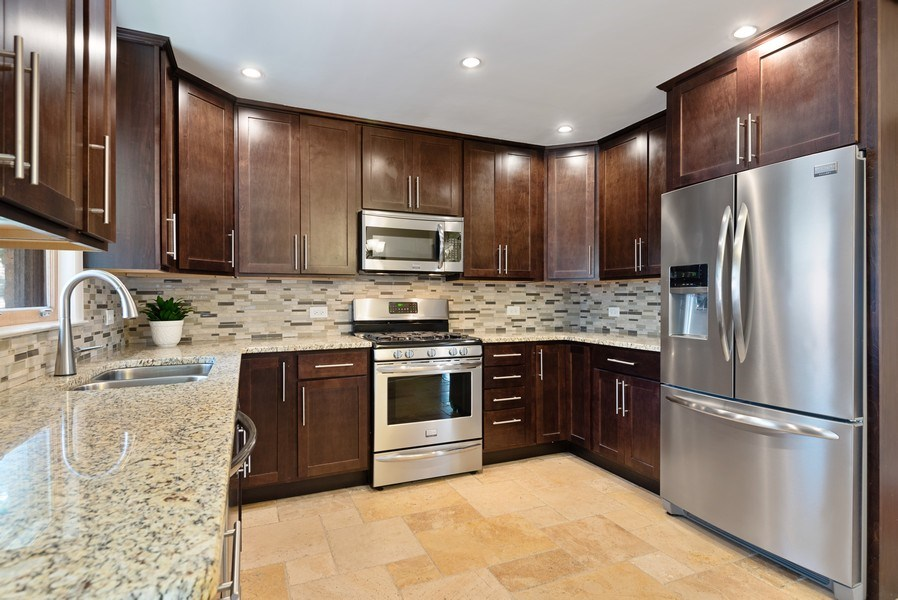 Real Estate Photography - 8018 Ottawa Avenue, Niles, IL, 60714 - Kitchen