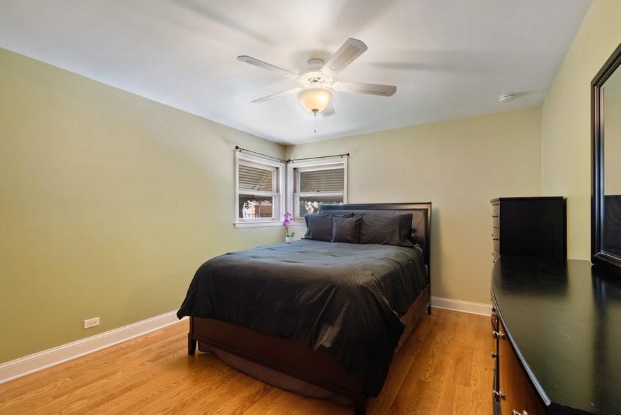 Real Estate Photography - 8018 Ottawa Avenue, Niles, IL, 60714 - Bedroom 1