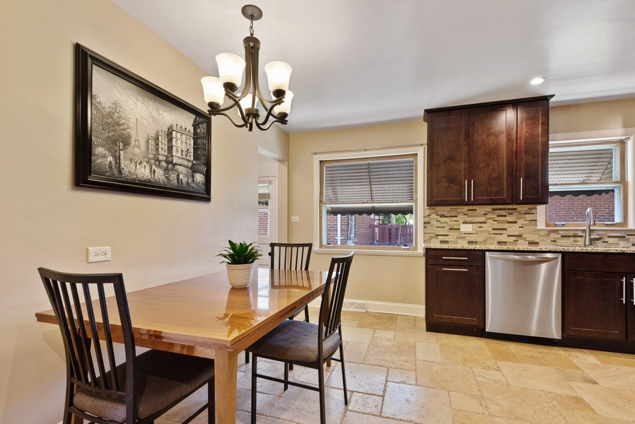 Real Estate Photography - 8018 Ottawa Avenue, Niles, IL, 60714 - Kitchen / Breakfast Room