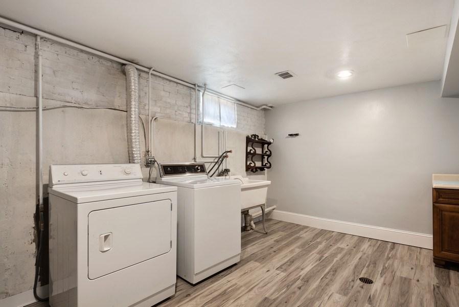 Real Estate Photography - 8018 Ottawa Avenue, Niles, IL, 60714 - Laundry Room