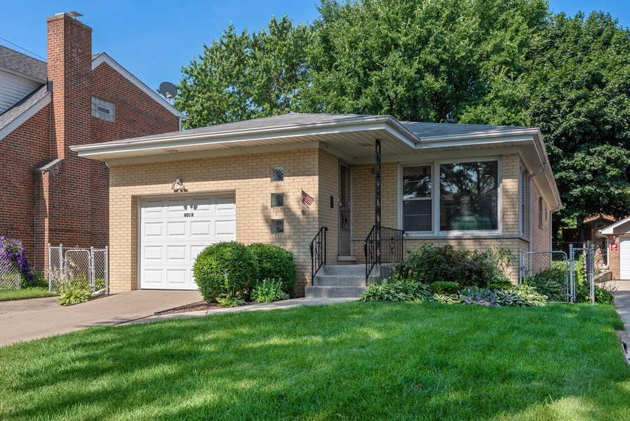 Real Estate Photography - 8018 Ottawa Avenue, Niles, IL, 60714 - Front View
