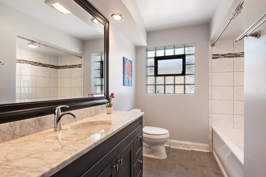Real Estate Photography - 8018 Ottawa Avenue, Niles, IL, 60714 - Bathroom