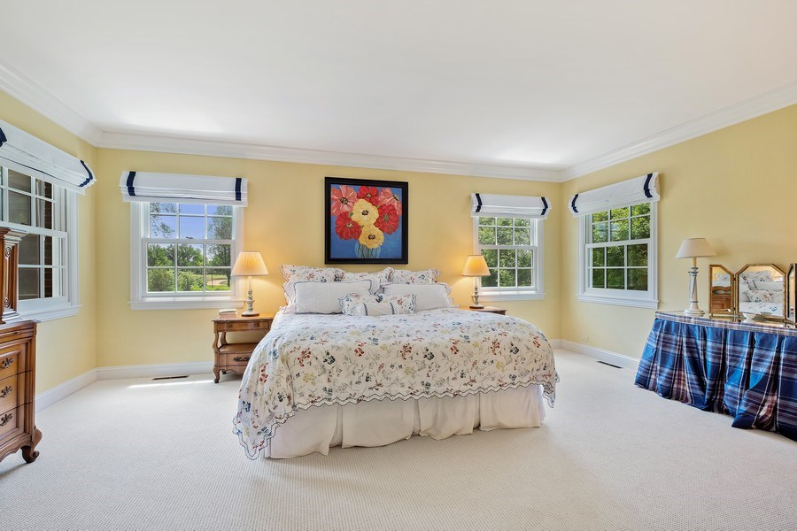 Real Estate Photography - 455 Landreth Ln, Northfield, IL, 60093 - Master Bedroom