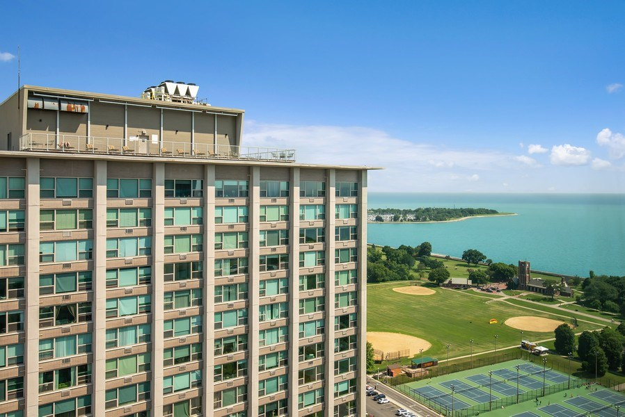 Real Estate Photography - 3600 N Lake Shore Dr, Unit 2812, Chicago, IL, 60613 - View