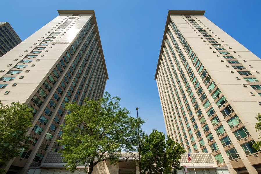 Real Estate Photography - 3600 N Lake Shore Dr, Unit 2812, Chicago, IL, 60613 - Front View