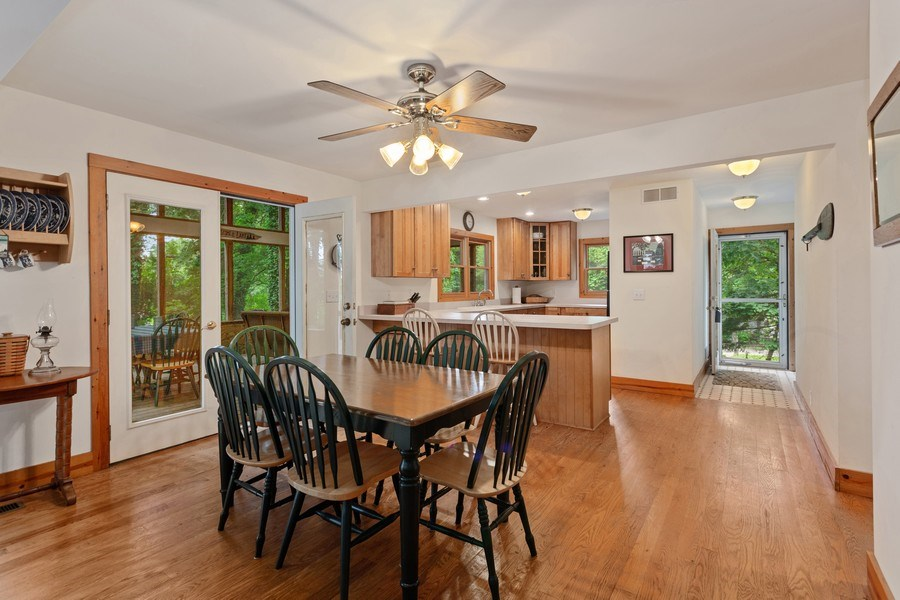 Real Estate Photography - 49210 Perkins Blvd, Grand Beach, MI, 49117 - Dining Room