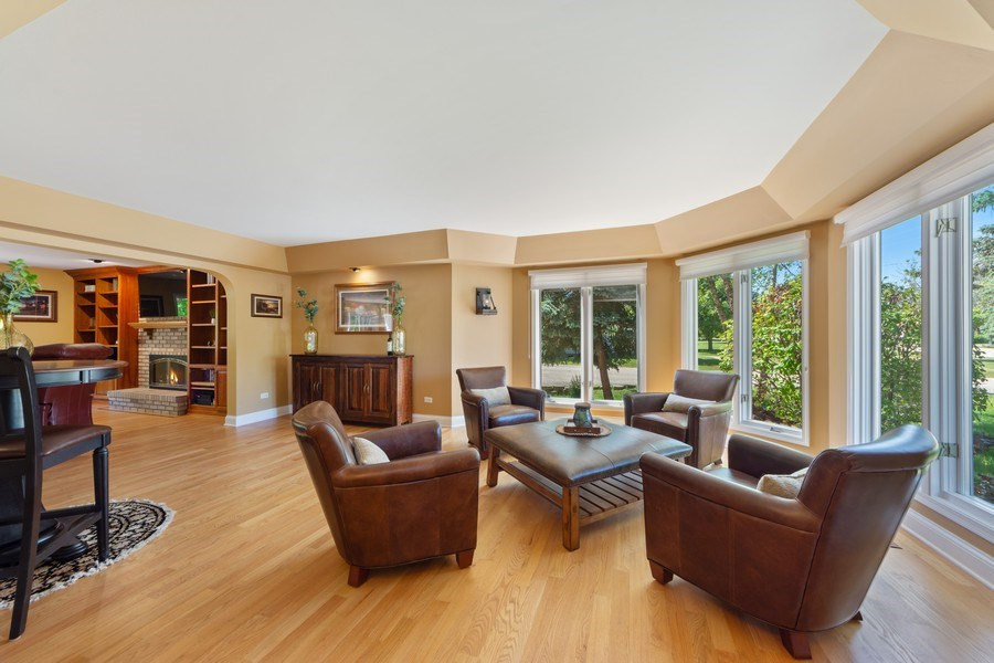 Real Estate Photography - 1709 Clarence, Arlington Heights, IL, 60004 - Living Room