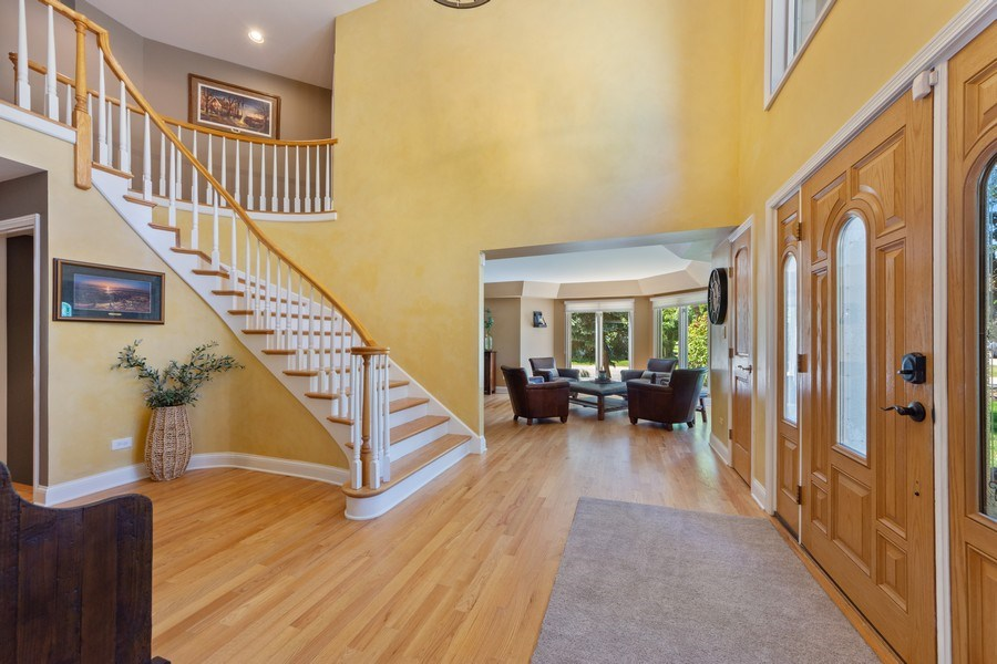 Real Estate Photography - 1709 Clarence, Arlington Heights, IL, 60004 - Foyer/Living Room