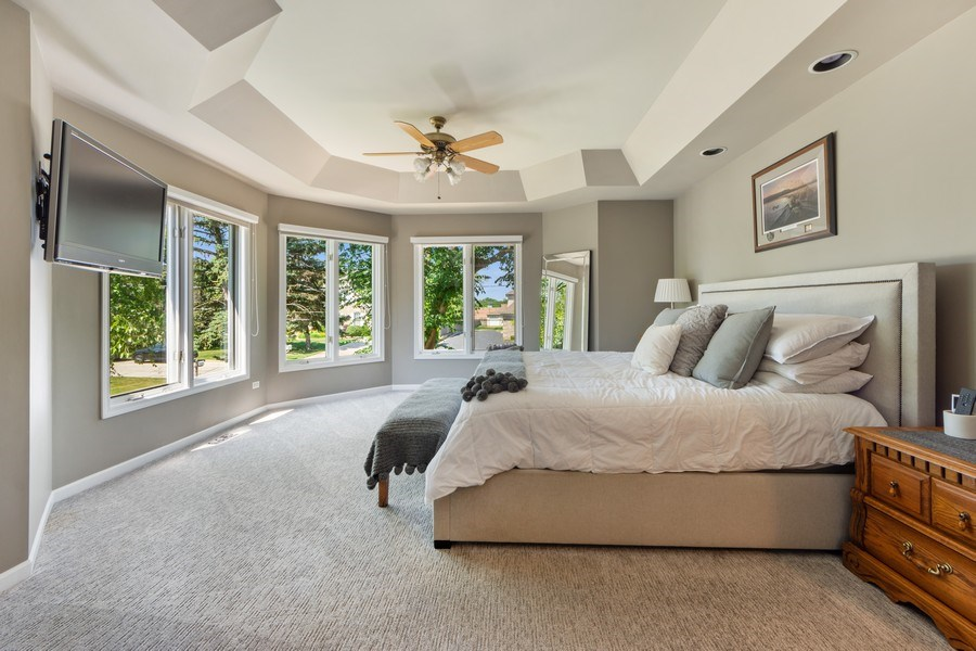 Real Estate Photography - 1709 Clarence, Arlington Heights, IL, 60004 - Master Bedroom