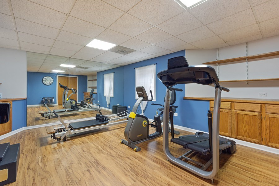 Real Estate Photography - 1709 Clarence, Arlington Heights, IL, 60004 - Exercise Room