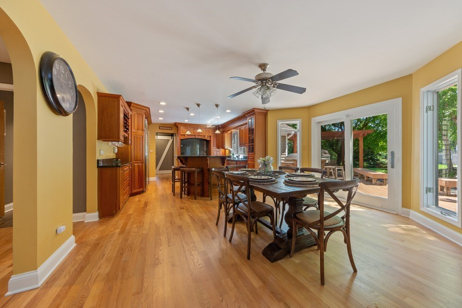 Real Estate Photography - 1709 Clarence, Arlington Heights, IL, 60004 - Kitchen / Breakfast Room