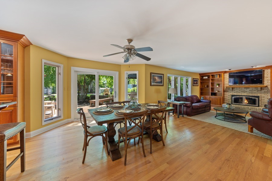 Real Estate Photography - 1709 Clarence, Arlington Heights, IL, 60004 - Breakfast Area