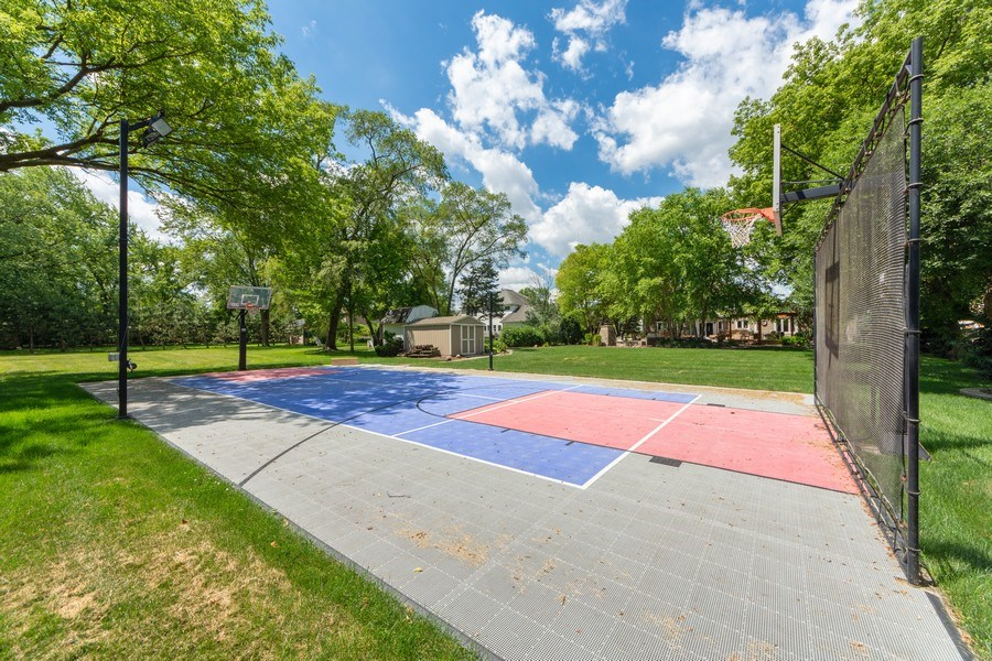 Real Estate Photography - 1709 Clarence, Arlington Heights, IL, 60004 - Basketball Court