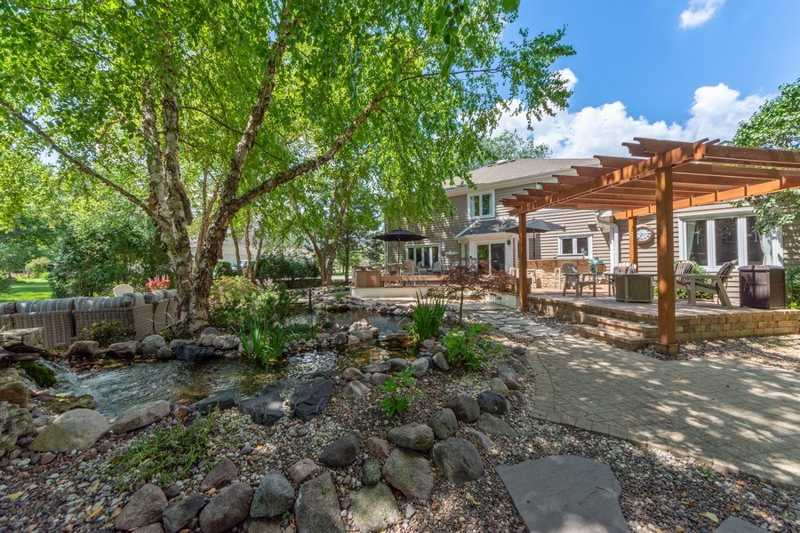 Real Estate Photography - 1709 Clarence, Arlington Heights, IL, 60004 - Rear View