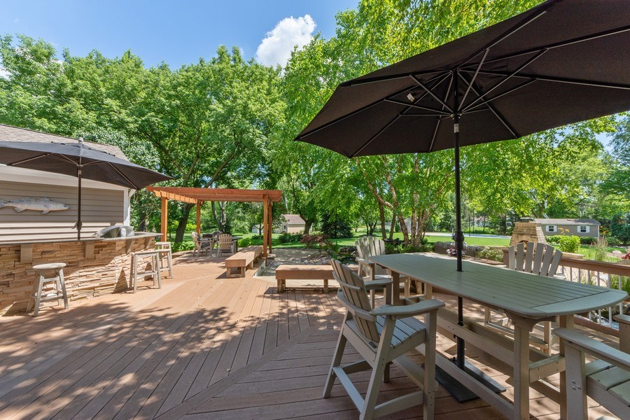 Real Estate Photography - 1709 Clarence, Arlington Heights, IL, 60004 - Deck