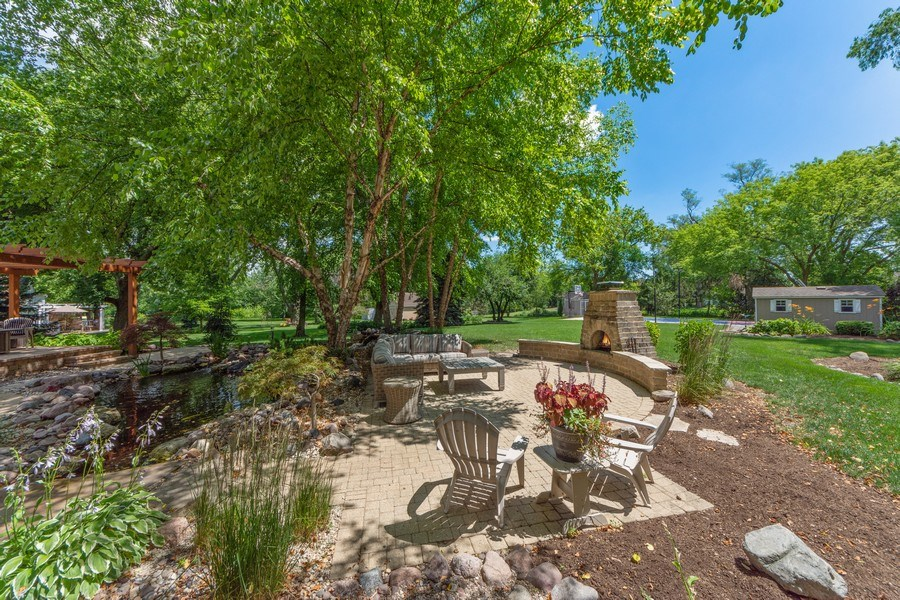 Real Estate Photography - 1709 Clarence, Arlington Heights, IL, 60004 - Patio