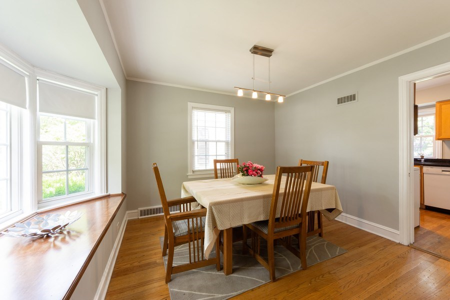 Real Estate Photography - 25 N Knight Ave, Park Ridge, IL, 60068 - Dining Room