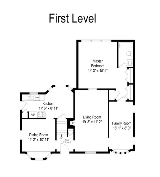 Real Estate Photography - 25 N Knight Ave, Park Ridge, IL, 60068 - Floor Plan