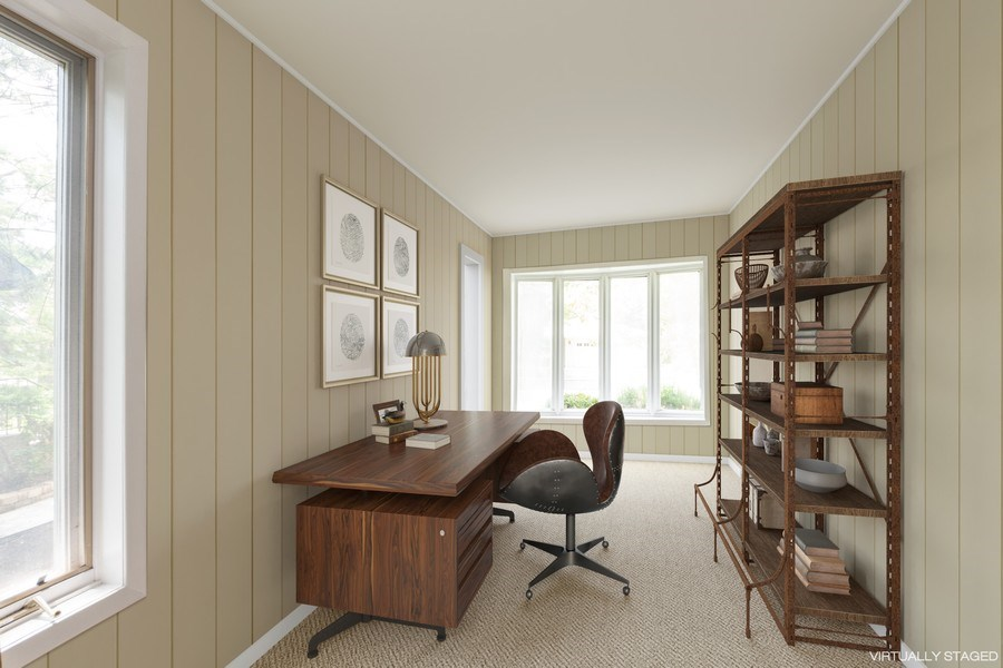 Real Estate Photography - 25 N Knight Ave, Park Ridge, IL, 60068 - Office