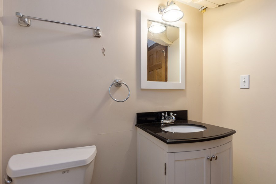 Real Estate Photography - 25 N Knight Ave, Park Ridge, IL, 60068 - Half Bath