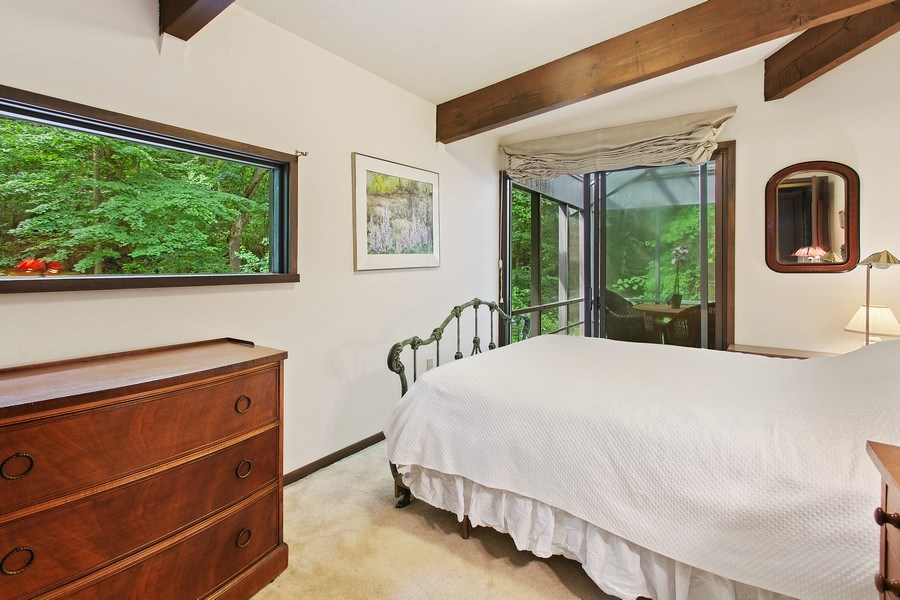 Real Estate Photography - 529 East Lake Front Drive, Beverly Shores, IN, 46301 - 2nd Bedroom