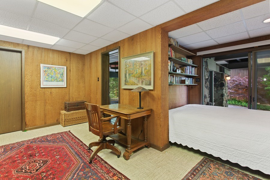 Real Estate Photography - 529 East Lake Front Drive, Beverly Shores, IN, 46301 - 3rd Bedroom