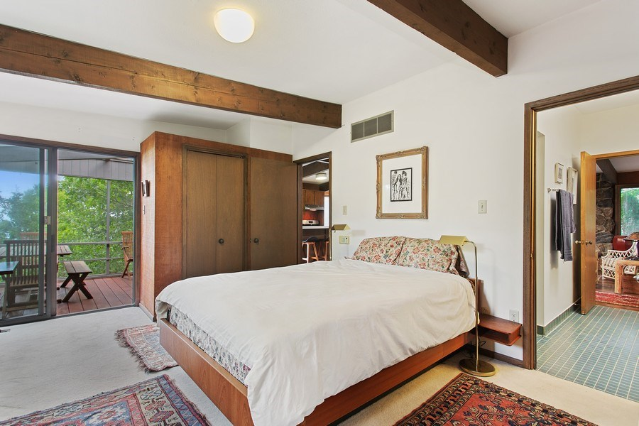 Real Estate Photography - 529 East Lake Front Drive, Beverly Shores, IN, 46301 - Master Bedroom