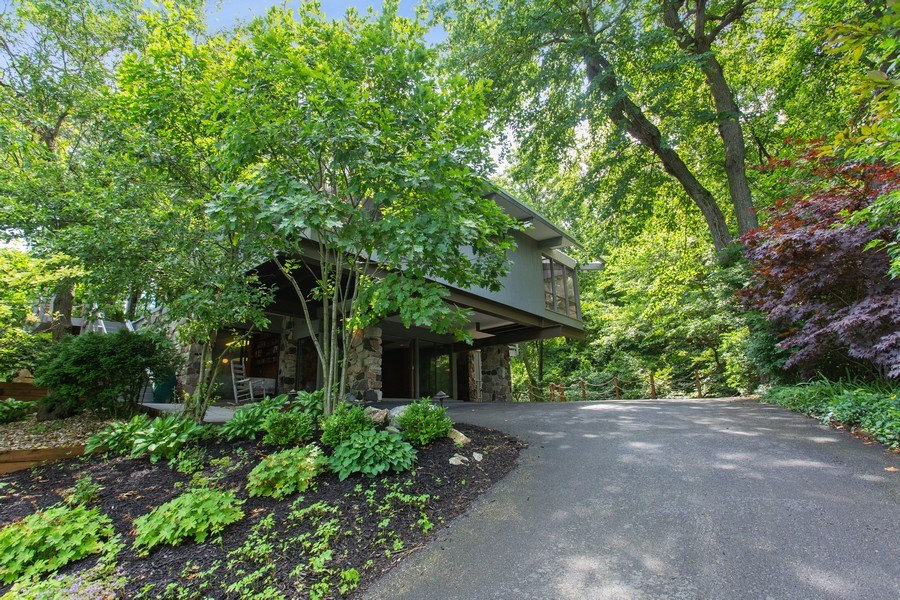 Real Estate Photography - 529 East Lake Front Drive, Beverly Shores, IN, 46301 - Front View