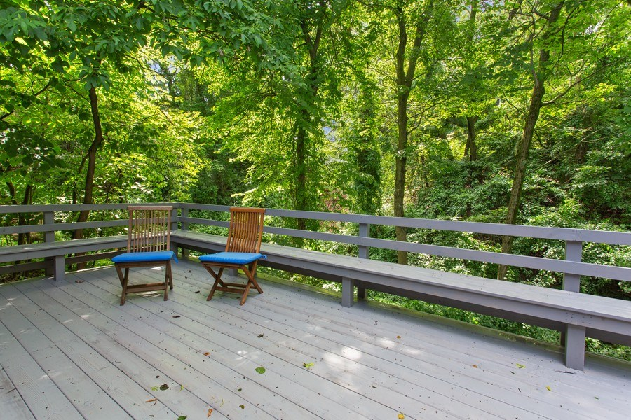 Real Estate Photography - 529 East Lake Front Drive, Beverly Shores, IN, 46301 - Deck