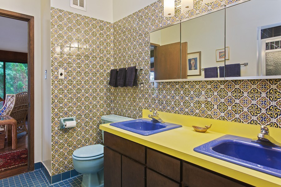 Real Estate Photography - 529 East Lake Front Drive, Beverly Shores, IN, 46301 - Bathroom