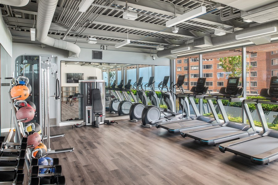 Real Estate Photography - 61 E Banks St, Chicago, IL, 60610 - Gym