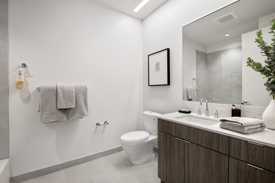 Real Estate Photography - 61 E Banks St, Chicago, IL, 60610 - Bathroom