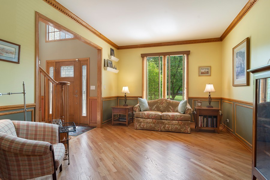 Real Estate Photography - 18 S Louis St, Mount Prospect, IL, 60056 - Living Room