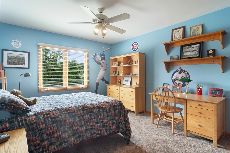 Real Estate Photography - 18 S Louis St, Mount Prospect, IL, 60056 - 2nd Bedroom