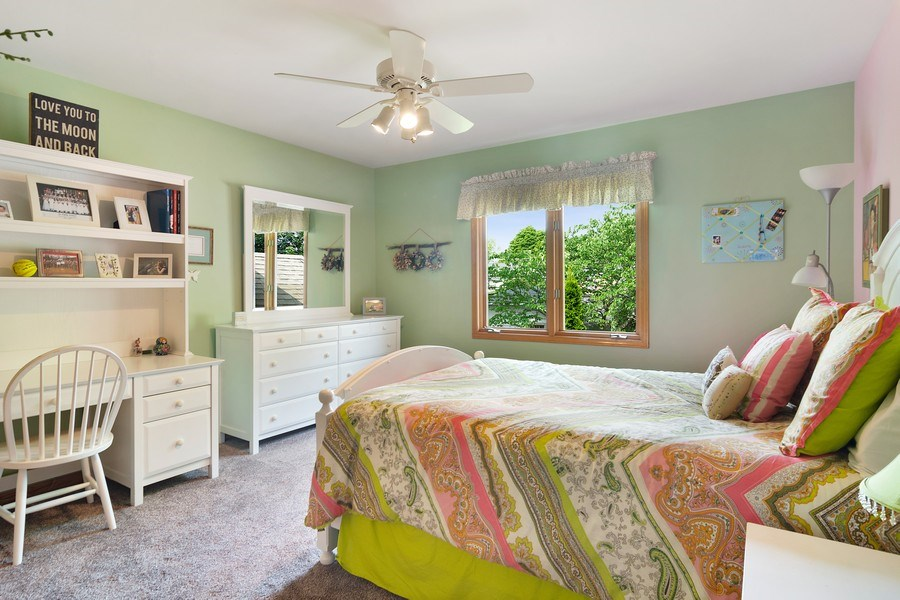 Real Estate Photography - 18 S Louis St, Mount Prospect, IL, 60056 - 3rd Bedroom