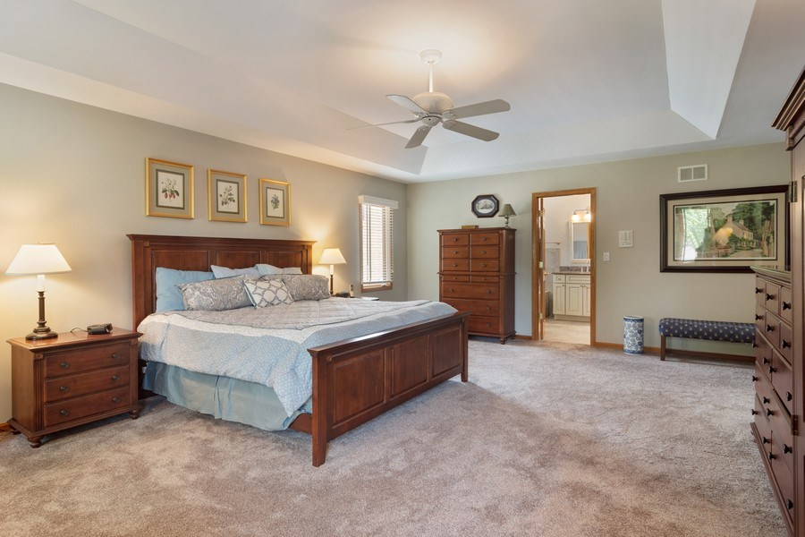 Real Estate Photography - 18 S Louis St, Mount Prospect, IL, 60056 - Master Bedroom