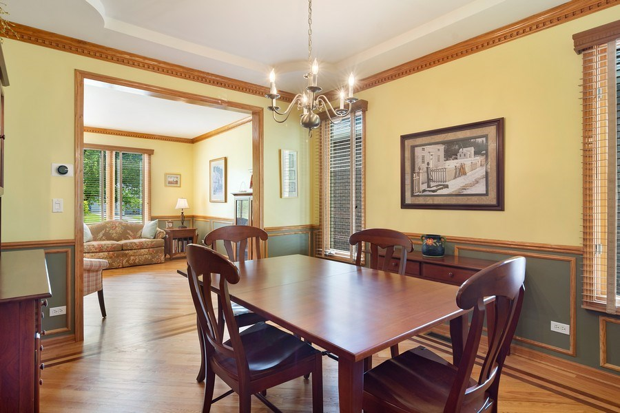 Real Estate Photography - 18 S Louis St, Mount Prospect, IL, 60056 - Dining Room