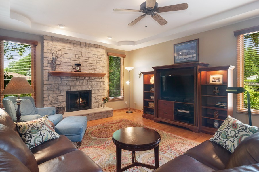 Real Estate Photography - 18 S Louis St, Mount Prospect, IL, 60056 - Family Room