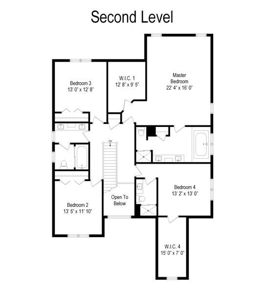 Real Estate Photography - 18 S Louis St, Mount Prospect, IL, 60056 - Floor Plan