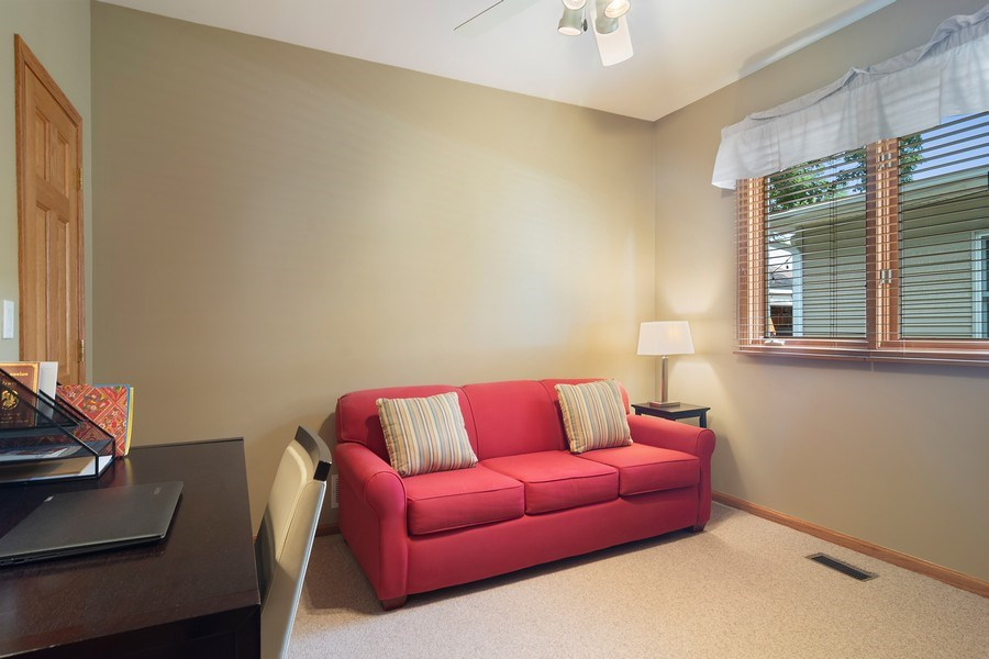 Real Estate Photography - 18 S Louis St, Mount Prospect, IL, 60056 - 1st Floor Bedroom 5 or Office
