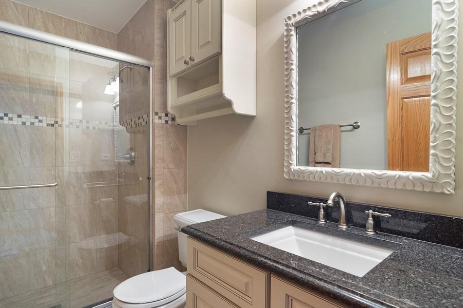 Real Estate Photography - 18 S Louis St, Mount Prospect, IL, 60056 - En Suite Full Bathroom for Br 4