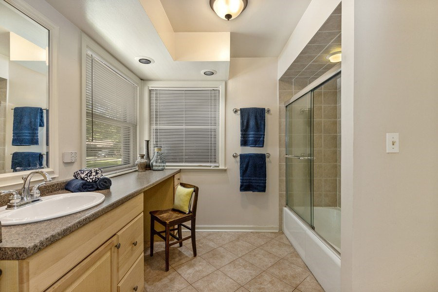 Real Estate Photography - 2830 W Bonnie Brook Ln, Waukegan, IL, 60087 - Master Bathroom