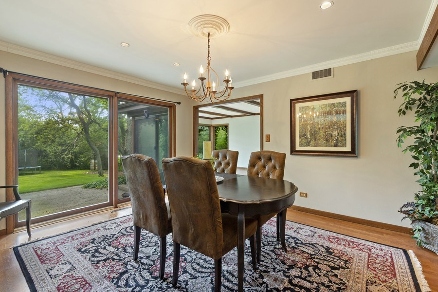 Real Estate Photography - 2830 W Bonnie Brook Ln, Waukegan, IL, 60087 - Dining Room