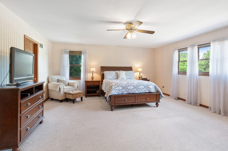 Real Estate Photography - 104 W Trail, Grayslake, IL, 60030 - Master Bedroom