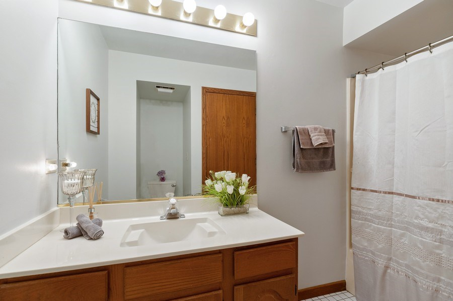 Real Estate Photography - 104 W Trail, Grayslake, IL, 60030 - Bathroom