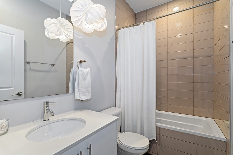 Real Estate Photography - 2441 W Belmont, #3W, Chicago, IL, 60618 - Bathroom