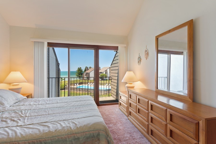Real Estate Photography - 101 North Shore Drive #30, South Haven, MI, 49090 - Master Bedroom